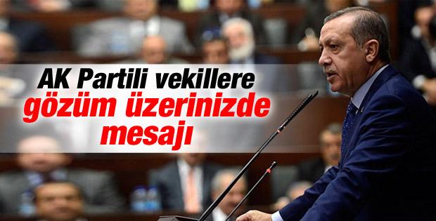 Erdoğan'dan AK Partililer'e dört mesaj