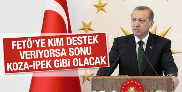 Cumhurbaşkanı Erdoğan'dan İpek Grubu açıklaması
