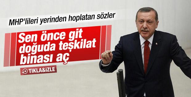Erdoğan'dan MHP'ye: Orada bir teşkilat bile açamadınız