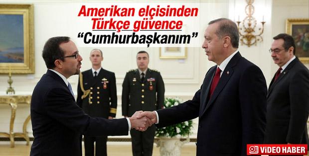 Erdoğan ABD Büyükelçisi John Bass'ı kabul etti
