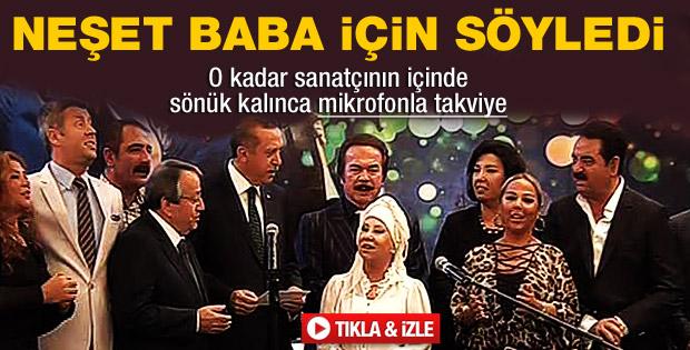 Erdoğan Neşet Ertaş için Gönül Dağı'nı söyledi - izle