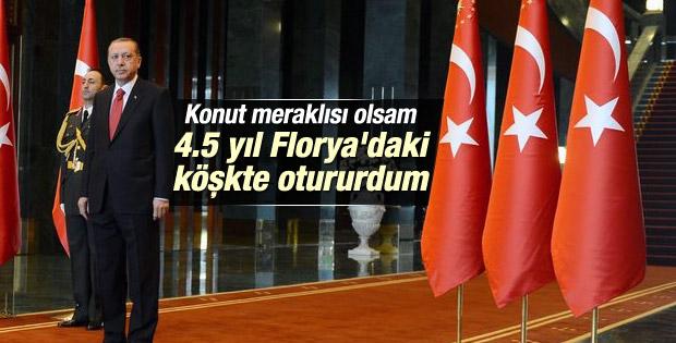 Cumhurbaşkanı Erdoğan: Burası milletin sarayı
