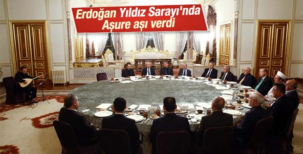 Cumhurbaşkanı Erdoğan'dan Aşure Aşı ikramı