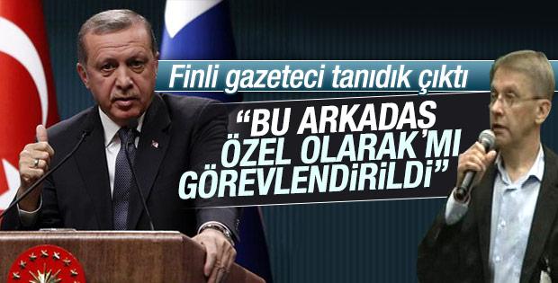 Erdoğan'a diktatör sorusunu soran gazeteci tanıdık çıktı
