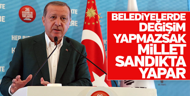 Erdoğan, AK Parti kampını açtı
