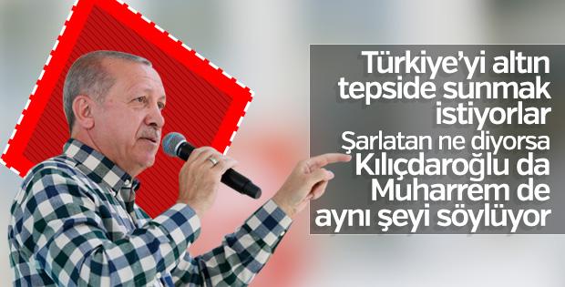 Cumhurbaşkanı Erdoğan Nevşehir'de