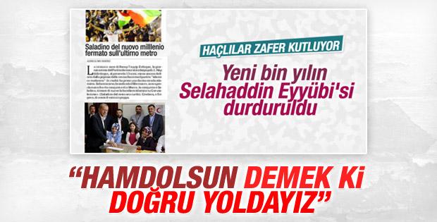 Erdoğan dış basının tavrını değerlendirdi