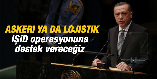 Erdoğan: IŞİD'e operasyonu olumlu buluyoruz