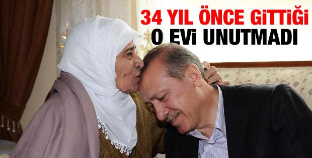 Erdoğan o evi unutmadı