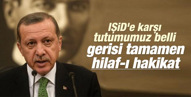 Cumhurbaşkanı Erdoğan: Taviz vermemiz mümkün değildir İZLE