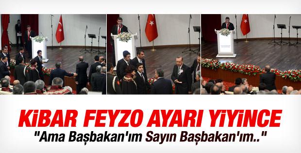 İşte Başbakan'la Metin Feyzioğlu'nun diyalogu İZLE