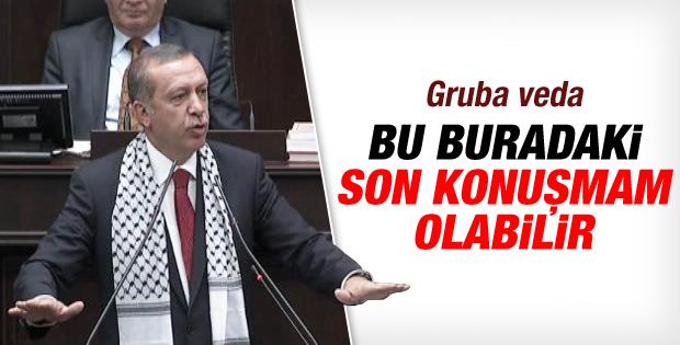 Erdoğan: Bu benim belki de bu kürsüden son konuşmam İZLE