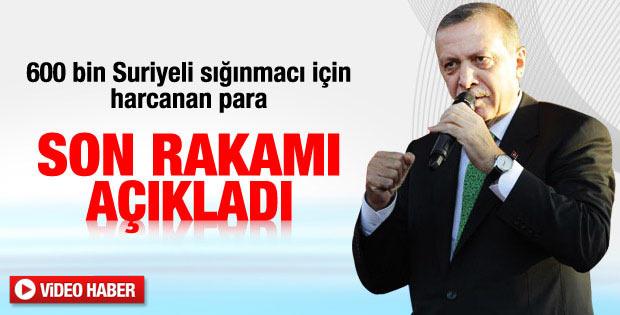 Erdoğan: Suriyeli sığınmacılar için 2 milyar harcadık - izle