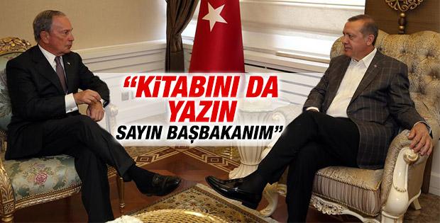 Bloomberg'den Erdoğan'a: Devrim yaptınız dünyaya anlatın
