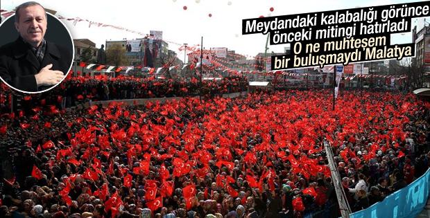 Erdoğan Malatya'da toplu açılış töreninde konuştu