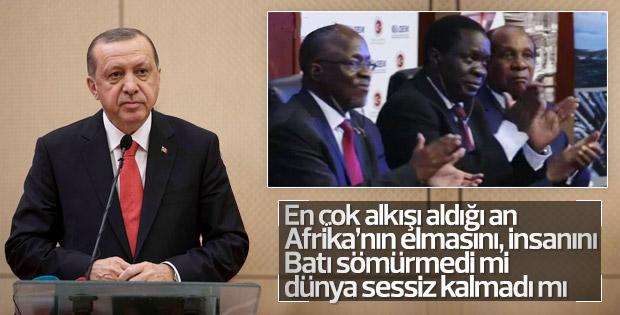 Erdoğan, Tanzanya'da Batı gerçeklerini anlattı