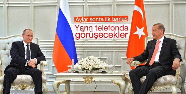 Erdoğan ile Putin telefonda görüşecek