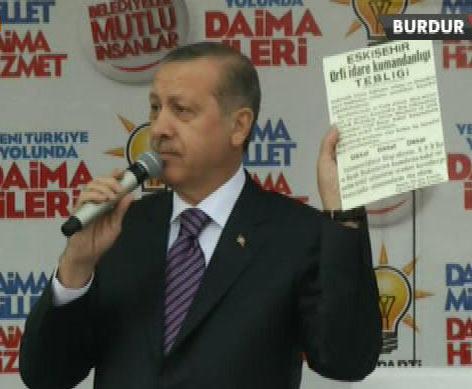 Başbakan Erdoğan'ın Burdur konuşması İZLE