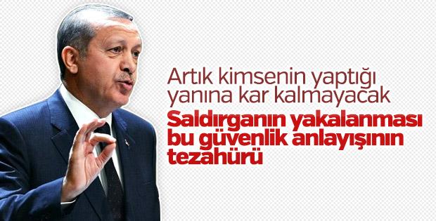 Cumhurbaşkanı Erdoğan Beştepe'de