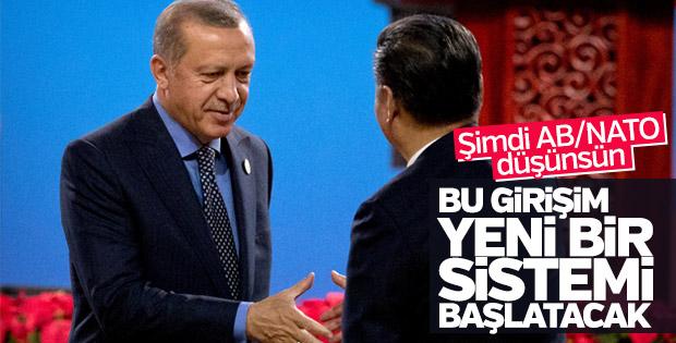 Cumhurbaşkanı Erdoğan'dan Çin'de açıklamalar