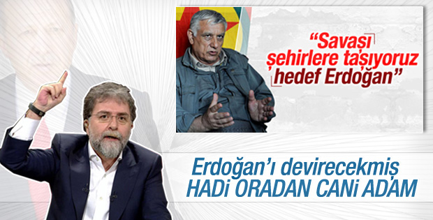 Ahmet Hakan'dan Cemil Bayık'a tepki