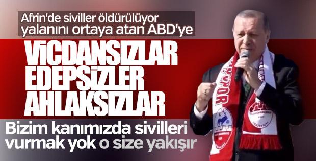 Erdoğan: Sivilleri vurmak bizim kanımızda yok