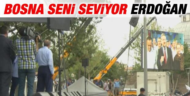 Erdoğan Bosna Hersek Cumhurbaşkanı ile canlı bağlantı yaptı
