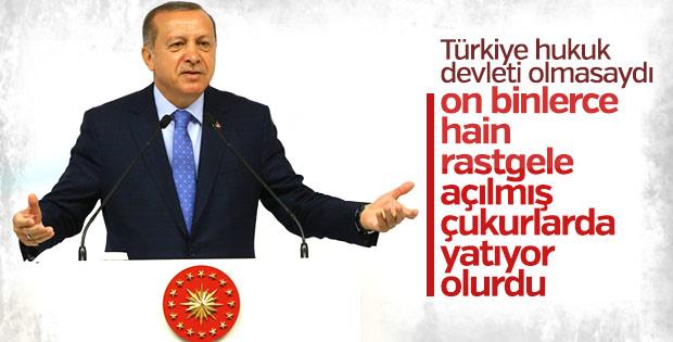 Cumhurbaşkanı Erdoğan 15 Temmuz panelinde