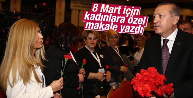 Erdoğan'dan Kadınlar Günü makalesi