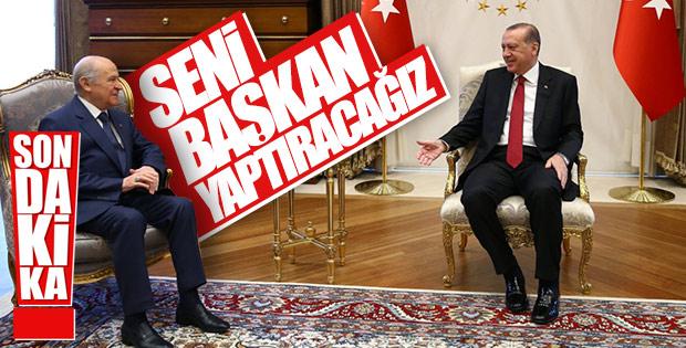 AK Parti-MHP ittifakı vücut buluyor