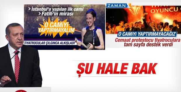 Erdoğan'ın TİKA toplu açılış töreni konuşması