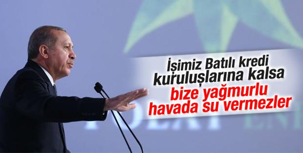 Erdoğan'ın enerji santrali açılış töreni konuşması