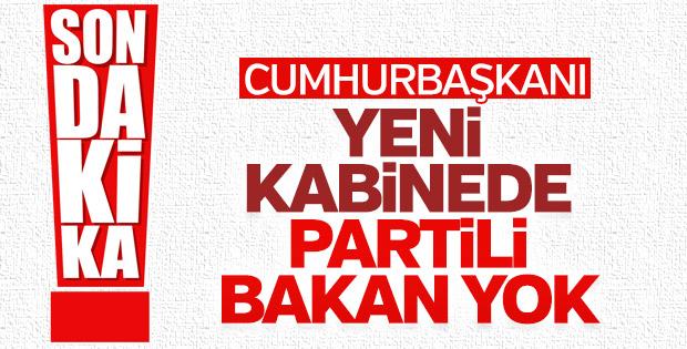 Erdoğan yeni kabineyle ilgili detay verdi