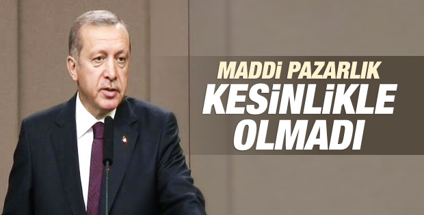 Erdoğan'dan ABD ziyareti öncesi açıklama İZLE
