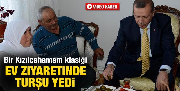 Başbakan vatandaşın evini ziyaret etti - izle