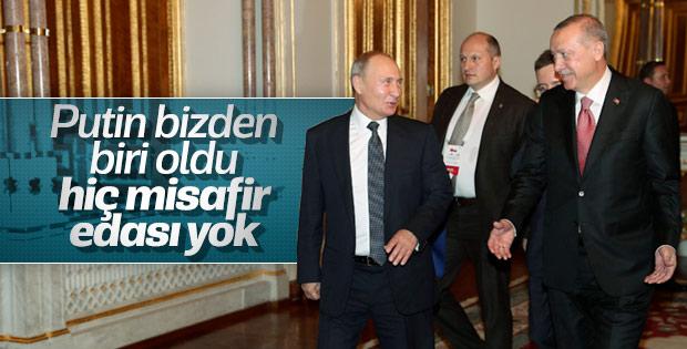 Başkan Erdoğan ve Putin Mabeyn Köşkü'nde görüştü