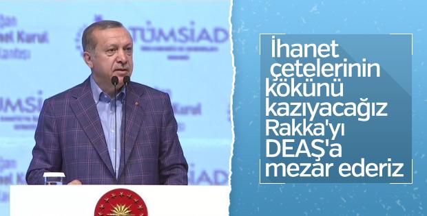Cumhurbaşkanı Erdoğan süren operasyonlara değindi