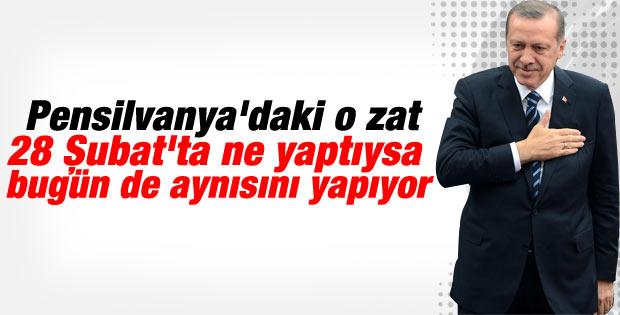 Başbakan Erdoğan'dan Fethullah Gülen'e sert sözler