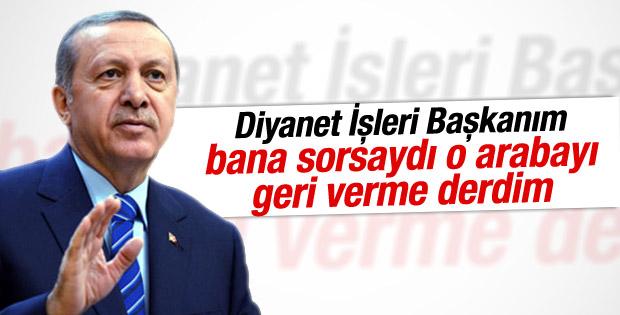 Cumhurbaşkanı Erdoğan'ın Belçika konuşması