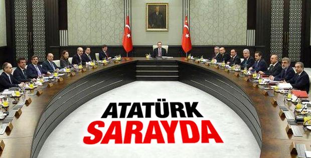 Erdoğan'ın başkanlığındaki Bakanlar Kurulu'ndan ilk kare
