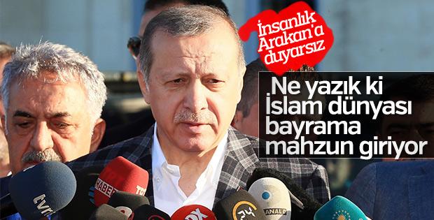 Cumhurbaşkanı Erdoğan Hz. Ali Camii'nde