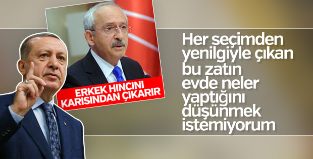 Erdoğan'dan Kılıçdaroğlu'na kadına şiddet tepkisi