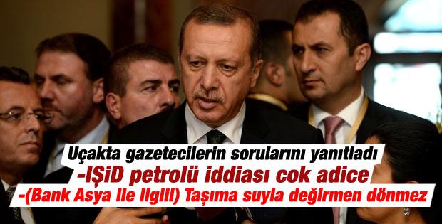 Cumhurbaşkanı Erdoğan: IŞİD petrolü iddiası çok adice