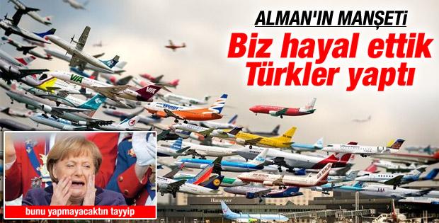 Türkiye'nin önemli projeleri Alman medyasında yayımlandı