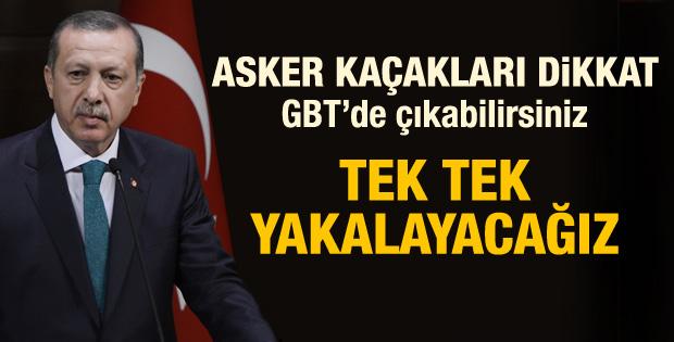 Erdoğan: Asker kaçakları yakalanacak - izle