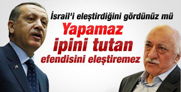 Erdoğan'dan Gülen'e çok sert İsrail tepkisi İZLE