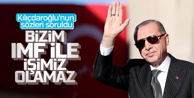 Erdoğan, gazetecilere Almanya görüşmelerini değerlendirdi