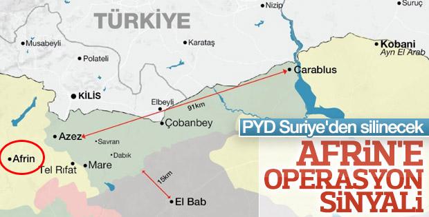 Cumhurbaşkanı Erdoğan'dan Afrin'e harekat sinyali