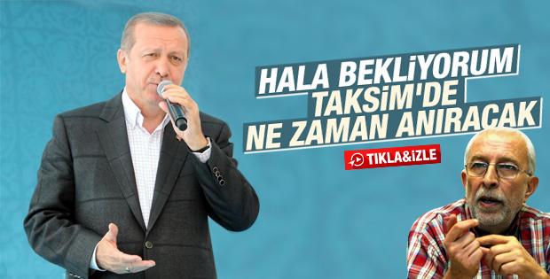 Erdoğan: Hala bekliyorum anıracak