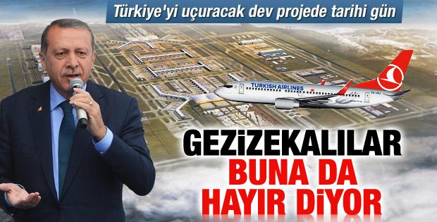 3. Havalimanı'nın temeli atıldı